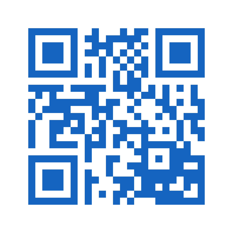 Escanee con el celular el código QR de contacto